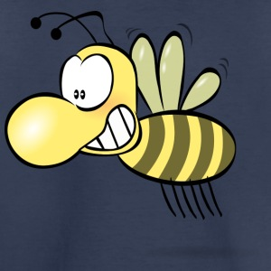 Funny Bee Smiling - Toddler Premium T-Shirt