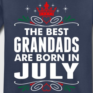 The Best Grandads Are Born In July - Toddler Premium T-Shirt