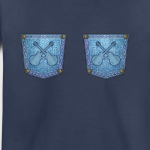 Guitars on jeans - Toddler Premium T-Shirt