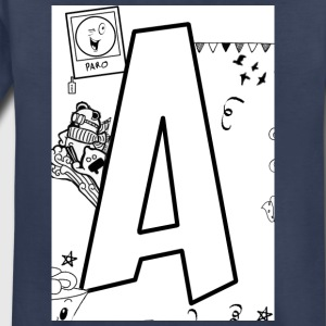 Alphabet A - Toddler Premium T-Shirt