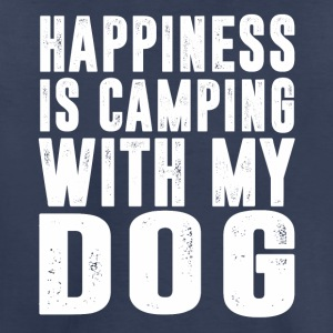 Happiness Is Camping With My Dog T-Shirt - Toddler Premium T-Shirt