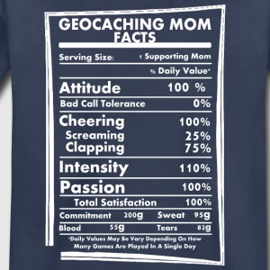 Geocaching Mom Facts Daily Values May Be Vary - Toddler Premium T-Shirt
