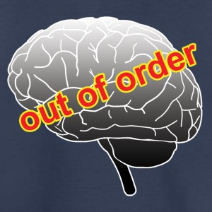 Funny out of order brain drawing - Toddler Premium T-Shirt