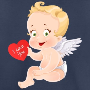 amourchik-smile-cupid-wings-heart-i-love-you - Toddler Premium T-Shirt