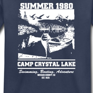 Camp Crystal Lake Summer 1980 Funny - Toddler Premium T-Shirt