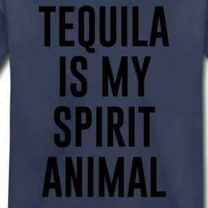 Tequila Is My Spirit Animal funny - Toddler Premium T-Shirt