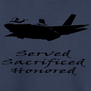 Airforce Served Sacrificed Honored - Toddler Premium T-Shirt