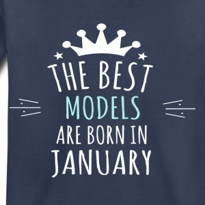 Best MODELS are born in january - Toddler Premium T-Shirt