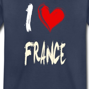 I love FRANCE - Toddler Premium T-Shirt