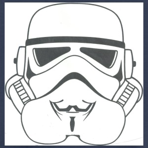 anonymous stormtrooper - Toddler Premium T-Shirt