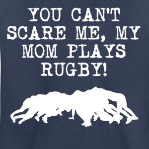 My Mom Plays Rugby - Toddler Premium T-Shirt