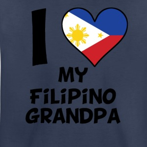 I Heart My Filipino Grandpa - Toddler Premium T-Shirt