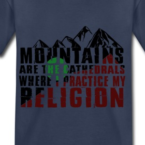 mountains are cathedrals T-shirt design - Toddler Premium T-Shirt