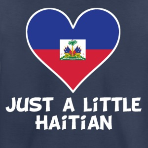 Just A Little Haitian - Toddler Premium T-Shirt