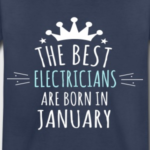 Best ELECTRICIANS are born in january - Toddler Premium T-Shirt