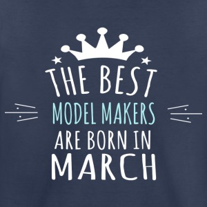 Best MODEL_MAKERS are born in march - Toddler Premium T-Shirt