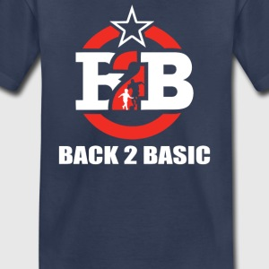 Back To Basics To Foot Ball - Toddler Premium T-Shirt