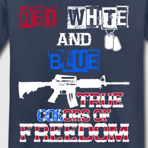Red White And Blue True Colors Of Freedom Products - Toddler Premium T-Shirt