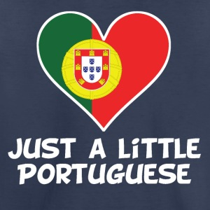 Just A Little Portuguese - Toddler Premium T-Shirt