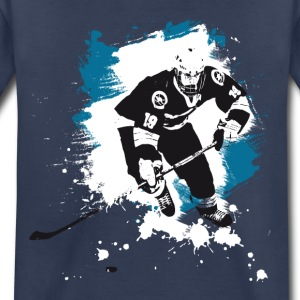 icehockey hockey puck player team sport ice LOL fu - Toddler Premium T-Shirt