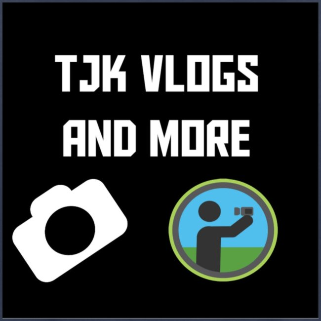 TJK Vlogs and More logo clothing