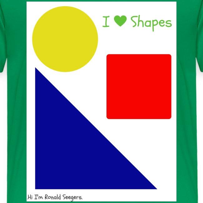 Hi I'm Ronald Seegers Collection-I Love Shapes