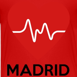 Heart Madrid - Toddler Premium T-Shirt