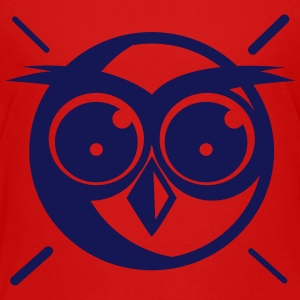Owl - Comic - Manga Style - Toddler Premium T-Shirt