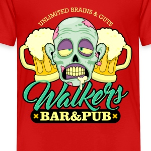 Zombie Walkers Bar and Pub - Toddler Premium T-Shirt