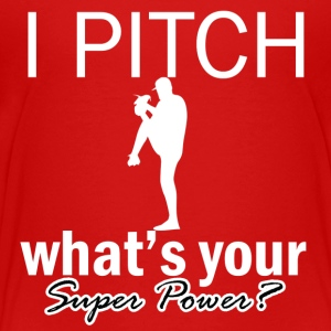 pitch design - Toddler Premium T-Shirt
