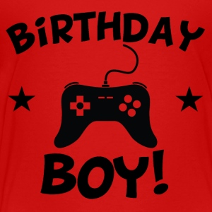 Birthday Boy Video Games - Toddler Premium T-Shirt