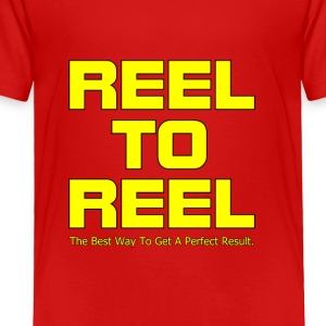 Reel To Reel yellow color - Toddler Premium T-Shirt