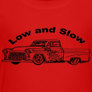 Low and Slow - Toddler Premium T-Shirt