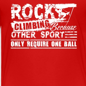 Rock Climbing Tee Shirts - Toddler Premium T-Shirt