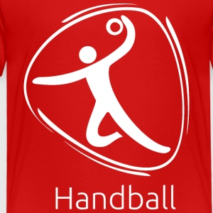 Handball_white - Toddler Premium T-Shirt