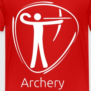 Archery_white - Toddler Premium T-Shirt
