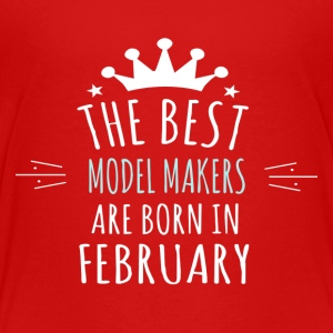 Best MODEL_MAKERS are born in february - Toddler Premium T-Shirt