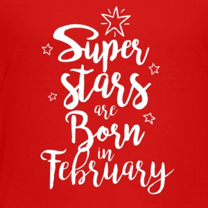 February Super Stars - Toddler Premium T-Shirt