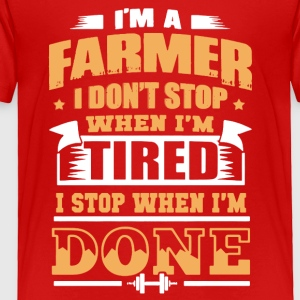 Farmer Tee Shirts - Toddler Premium T-Shirt