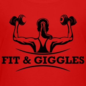 FiT and Giggles - Toddler Premium T-Shirt
