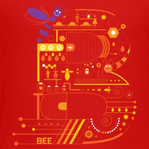 Alphabet Stories Letter B - Toddler Premium T-Shirt