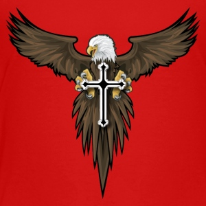 eagle and cross - Toddler Premium T-Shirt