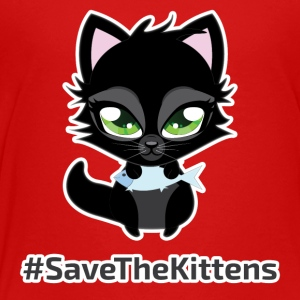 #SaveTheKittens - Toddler Premium T-Shirt
