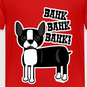 Boston Accent Terrier - Toddler Premium T-Shirt