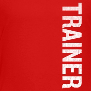 Awesome Trainer Sports Uniform Versatile Fathers G - Toddler Premium T-Shirt