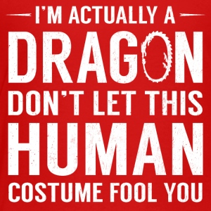 I'm Actually A Dragon Funny Halloween Costume - Toddler Premium T-Shirt