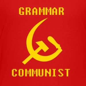 Grammar communist - transparent - Toddler Premium T-Shirt