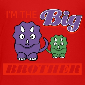 I'm the Big Brother designs - Toddler Premium T-Shirt