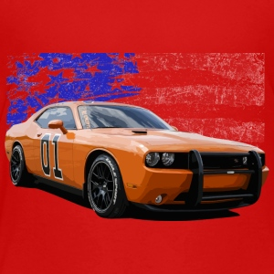 Dodge Challenger RT America Muscle Car Shirt - Toddler Premium T-Shirt