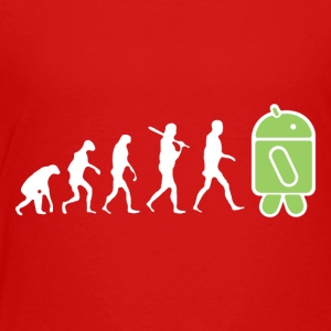 The Evolution to Android - Toddler Premium T-Shirt